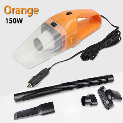 Useful 150W 12V Portable Handheld Cyclonic Wet/Dry Duster Car Vacuum Cleaner