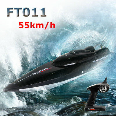 Feilun FT011 2.4G 55km/h Water Cooled Racing Boat Brushless Motor High Speed AU