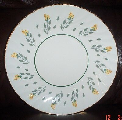 Royal Wessex Swinnertons Ironstone Plate Yellow Flower Pattern