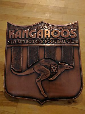 Kangaroos (North Melbourne) AFL/VFL Bronze Plaque