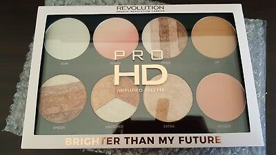 100% AUTHENTIC RRP $25.94 Brighter Than My Future Pro HD Highlighter Palette