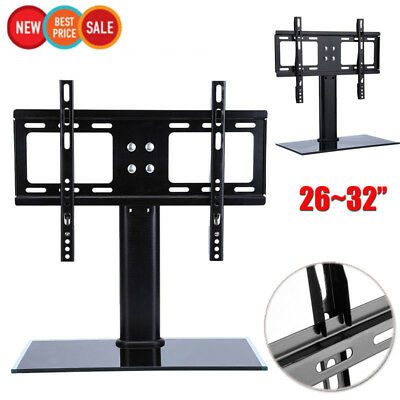 Universal Bracket Tv Stand Replacement Tabletop Tv Base Stand Mount