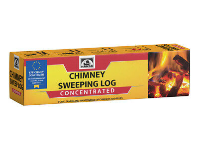 HANSA chimney cleaner log, soot / creosote remover CONCENTRATED, 1.1 kg (2.4lb.)