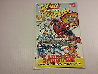 X-Force and Spider-Man: Sabotage TPB, McFarlane and Liefeld