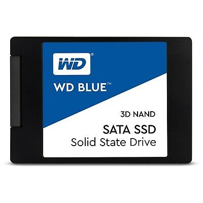 "Western Digital WD Blue 250GB 2.5"" SATA Internal Solid State Drive SSD 550MB/s"