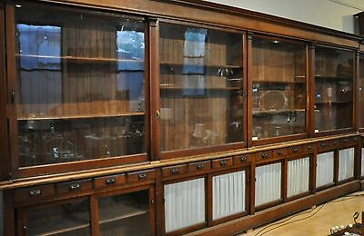 Antique Apothecary Cabinet or Display 1906 Original *Delivery Can Be Arranged*