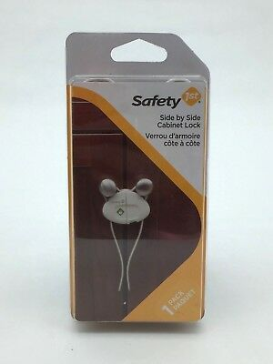 Safety 1st Baby Cabinet Lock: Side by Side Cabinet Lock I Pack of 2