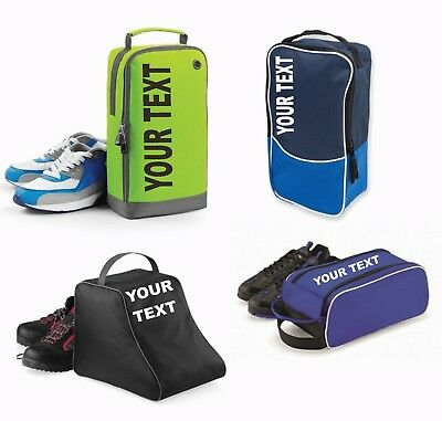 YOUR TEXT - Personalised Or Plain Boot Bags