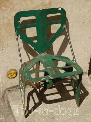 Chaise Metal Enfant Piece Originale H=60 L=37 P=31cm Tha-in-daga Inde