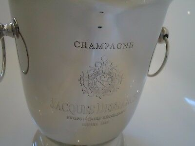 Ice Bucket / Wine Cooler Vintage Style Silver Nickel Plated - Champagne Bath