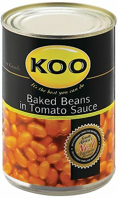 Koo - Baked Beans in Tomato Sauce - 410g Tins