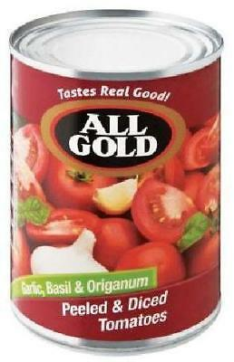 All Gold - Tomato Garlic Basil & Origanum - 410g Cans