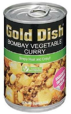 Gold Dish - Bombay Vegetable Curry - 400g Can