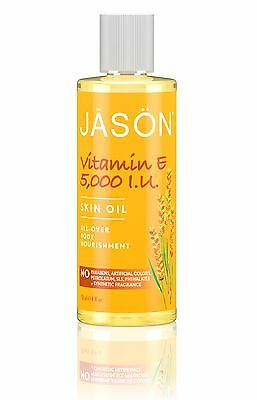 JASON PURE ORGANIC VITAMIN E OIL 5000IU 118ml - ALL OVER BODY NOURISHMENT