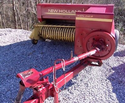 Nice! New Holland 311 Square Hay Baler -------- CAN SHIP @ $1.85 loaded mile