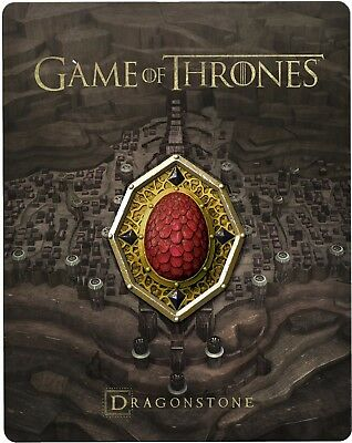 Game of Thrones - Season 7 (Red Dragonstone) (Blu-ray) (STEELBOOK) (ALL) (NEW)