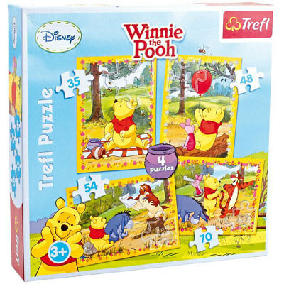Puzzle 4 in 1 «Winnie the Pooh»
