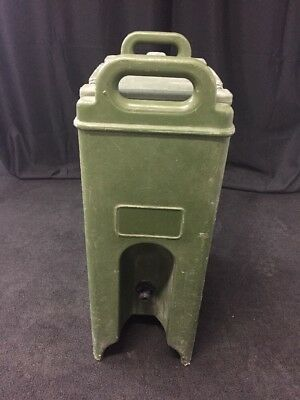 CAMBRO 500LCD 5 Gallon Hot/Cold Insulated Beverage Dispenser Camtainer #4 Green