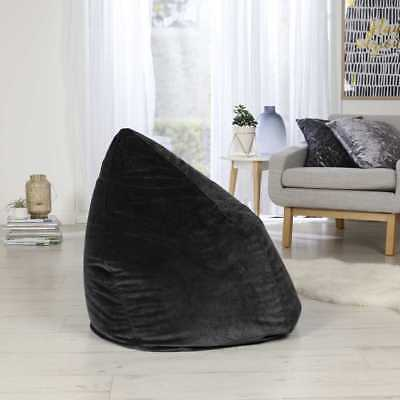 NEW Living Space Velvet Bean Bag Covers By Spotlight