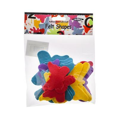 NEW Arbee Adhesive Butterfly Felt Shapes By Spotlight
