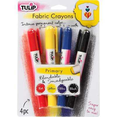NEW Tulip Crayon Primary Colour Stick By Spotlight