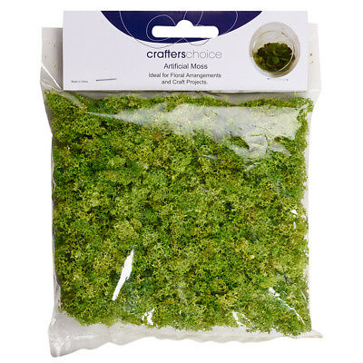 NEW Crafters Choice Artificial Moss In Bag By Spotlight