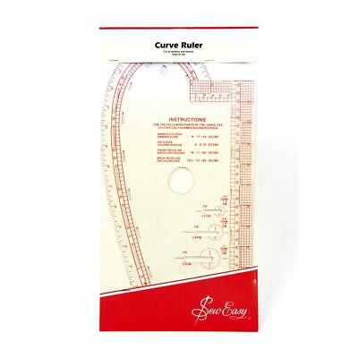 NEW Sew Easy Curved Metric Ruler By Spotlight