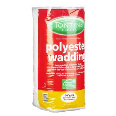 NEW Tontine Pre-Packed Wadding 200g By Spotlight