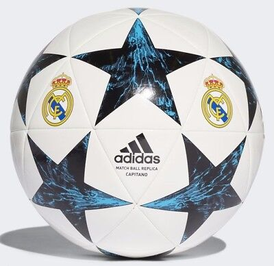 Real Madrid F.C Football Adidas Soccer Ball Size 5 Finale17RM Capitano Bale NEW