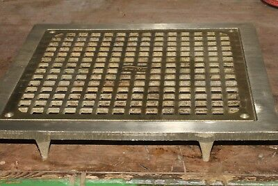 """JR Smith 12.5"""" Solid Brass Industrial Floor Drain Cover 6487E 6486G"""