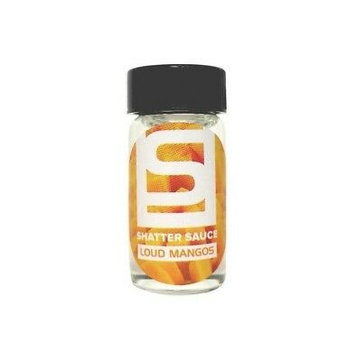 Shatter Sauce - Loud Mangos (15 ml) - Shatter, Dab, Liquidizer for Extracts