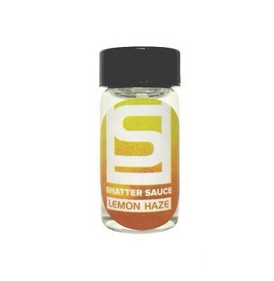 Shatter Sauce: Lemon Haze (15 ml) - Dab, Shatter Liquidizer for Extracts, Wax