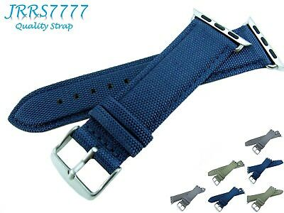 38mm Apple Watch Band Nylon Navy Blue Fashion Sport Series 1 2 3 Adapter Trend