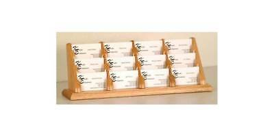Business Card Display Stand w Twelve Pockets [ID 373589]
