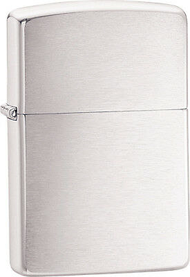 Zippo Brushed Chrome  These world famous lighters are made in the USA, feature w