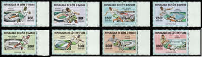 Ivory Coast Michel #1442-1449 MNH -  2006 World Cup (soccer, football)