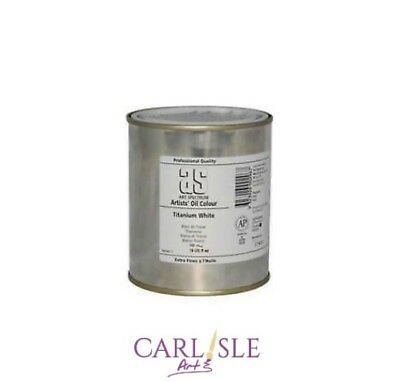 Art Spectrum Artists' Titanium White 500ml Tin