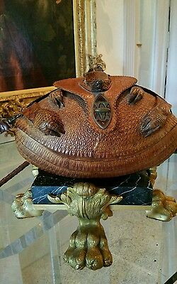 00f15f8add7d Vintage 1950 s Ladies Armadillo Handbag