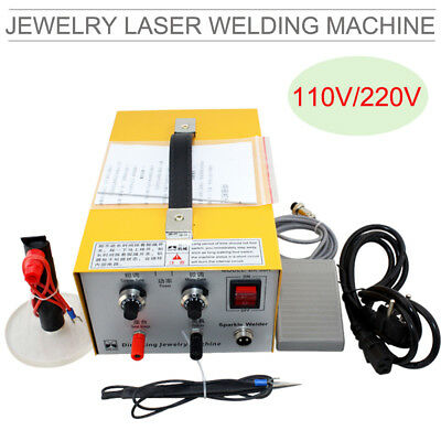 Pulse Sparkle Spot Welder Jewelry Welding Machine Gold Silver Platinum【US STOCK】