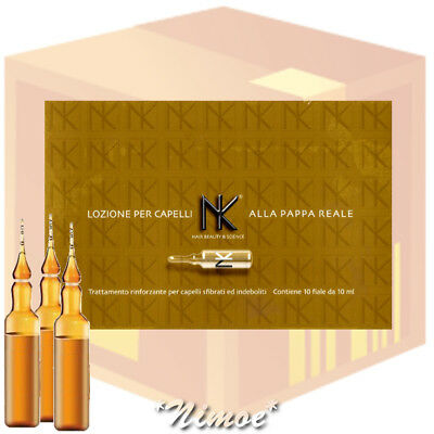 Pappa Reale Hair Lotion 12 box = 120 fiale vials Nicky Chini ® Rinforzante Jelly