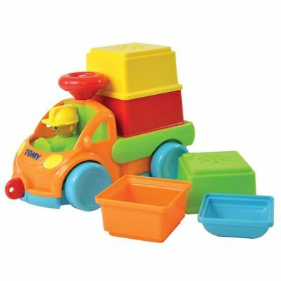 Tomy Pack & Stack Play Truck Free Shipping!