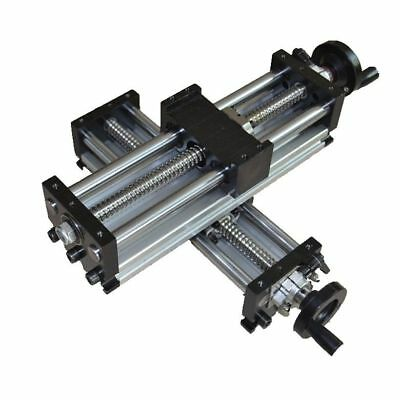 100-1000mm Manual Sliding Table SFU1605 Ballscrew Linear Stage Actuator