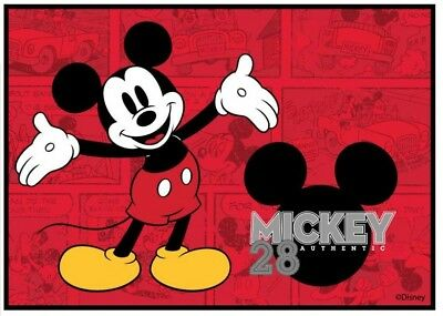 New Retro Mickey Mouse Disney Kids Play Mat/rug 100X150Cm
