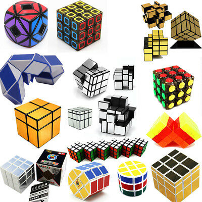 Classic 70 Style Speed Twist Cube Magic Cube Mind Game Education Cube Toy Gift