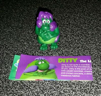 "Yowies Australian 2017 Series ""DITTY the yowie"""