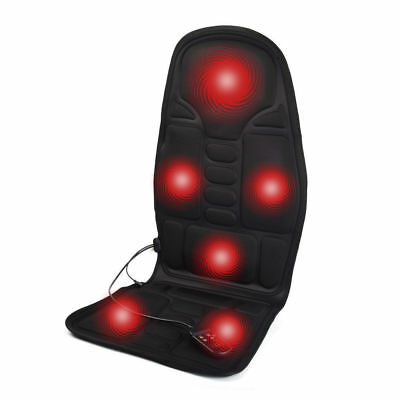 Electric Full-Body Cushion Massage Chair For Auto Car Home Office Seat Pad US