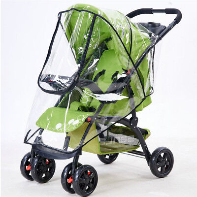 Universal Rain Cover Raincover Buggy Pushchair Stroller Baby Car Waterproof