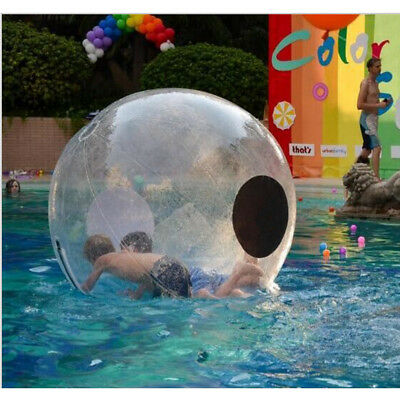 2/1.5M Water Walking Ball PVC Inflatable Zorb Walk Jump on Water German Zip