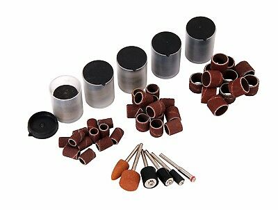 206pc Polishing and Grinding Sanding Drum Cut Off Disc Rotary Bit Set