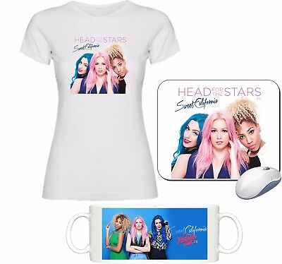 KIT TAZA+CAMISETA+ALFOMBRILLA SWEET CALIFORNIA GIRL BAN PIDE TALLA LIN Msc002
